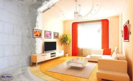 Ремонт квартиры - до и после