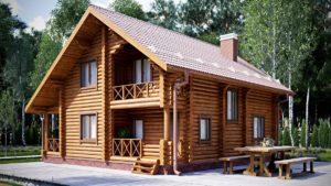 Строительство домов из бревен в Иркутске