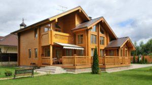 Строительство домов из бруса в Иркутске.