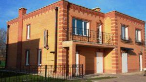 Строительство кирпичных домов в Иркутске.